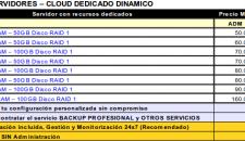 SEAVTEC - IT Cloud - Precios servidores