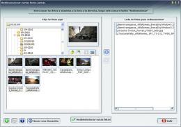 Redimensionar un grupo de imágenes para la Web
